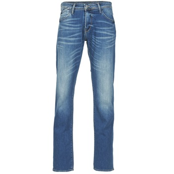 Clothing Men straight jeans Le Temps des Cerises 812 Blue