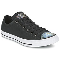 Shoes Women Low top trainers Converse ALL STAR OIL SLICK TOE CAP OX Black