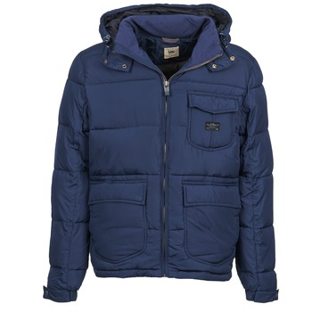 Clothing Men Duffel coats Lee LOCO PUFFA Marine