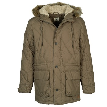 Clothing Men Parkas Lee DOWN PARKA Kaki