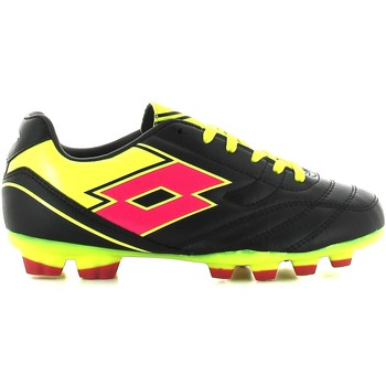 Shoes Children Fitness / Training Lotto R2792 Scarpa calcio Kid Nero