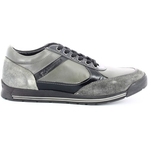 Shoes Men Low top trainers Lumberjack 1107 Sneakers Man Grey Grey