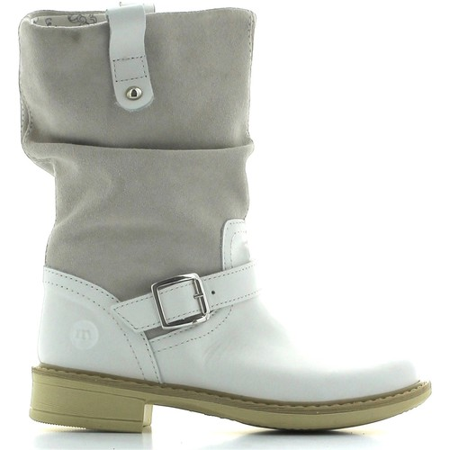 Shoes Children Ankle boots Melania ME6083F4E.A Boots Kid nd brown