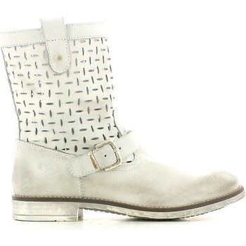 Shoes Women Mid boots Nero Giardini P430440F Boots Kid White White