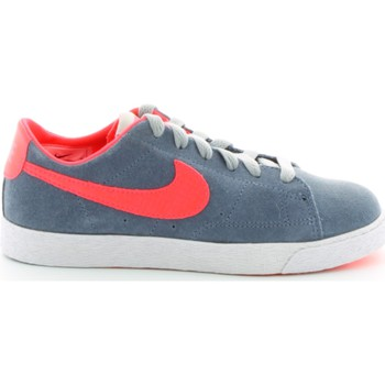 Shoes Boy Low top trainers Nike 555194 Sport shoes Kid Grey Grey