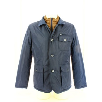 Clothing Men Jackets Olimpias EMTU1186 Jacket Man Blue Blue