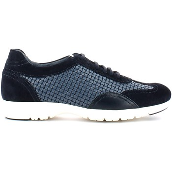 Shoes Men Low top trainers Soldini 19543 9 S31 Classic shoes Man Blu
