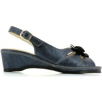 Shoes Women Sandals Susimoda 320748 Wedge sandals Women Blue Blue