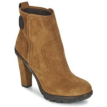 Shoes Women Ankle boots Pataugas FANNY/F Brown