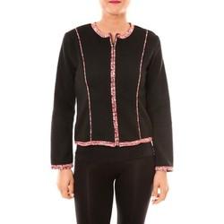 Clothing Women Jackets / Blazers Bamboo's Fashion Veste BW667 noir Black