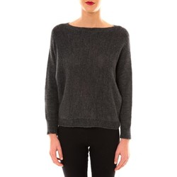 Clothing Women jumpers De Fil En Aiguille Pull Galina anthracite Grey