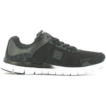 Shoes Men Low top trainers Fila 26040479 Sport shoes Man Black Black