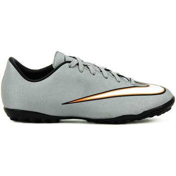 Shoes Children Football shoes Nike JR Mercurial Victory V CR TF Grey