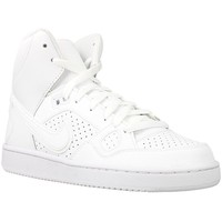 Shoes Children Hi top trainers Nike Son OF Force Mid GS White