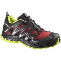 Shoes Men Running shoes Salomon XA Pro 3D Black-Burgundy-Silver