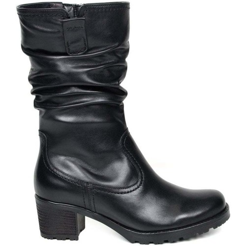 Shoes Women High boots Gabor Dunmow Womens Slouch Calf Boots black