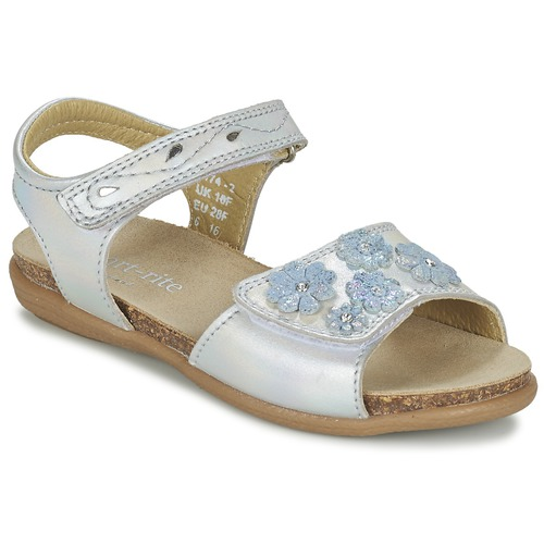 Shoes Girl Sandals Start Rite SUMMERS DAY Silver