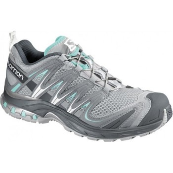 Shoes Women Running shoes Salomon XA Pro 3D Grey-Light blue
