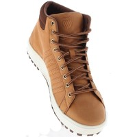 Shoes Men Hi top trainers K-Swiss Adcourt 72 Boot Brown-White