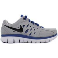 Shoes Children Running shoes Nike Flex 2013 RN GS Grey-Blue