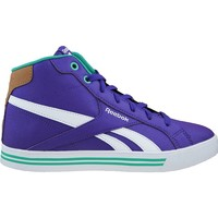 Shoes Children Hi top trainers Reebok Sport Royal Comp Mid Syn White-Green-Violet