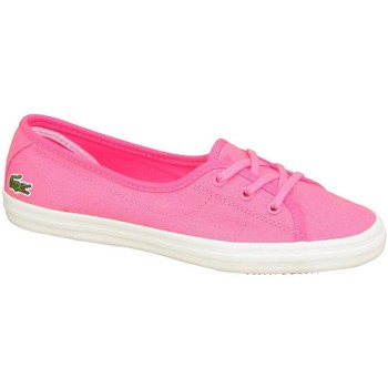 Shoes Women Flat shoes Lacoste Ziane Chunky Abb Pink
