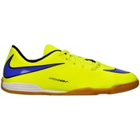 Shoes Children Football shoes Nike JR Hypervenom Phade IC Blue-Yellow
