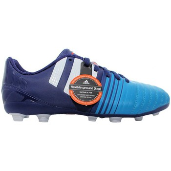 Shoes Children Football shoes adidas Originals Nitrocharge 40 Fxg Blue-Navy blue