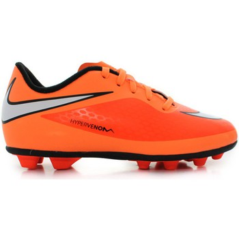 Shoes Children Football shoes Nike JR Hypervenom Phade Fgr Orange
