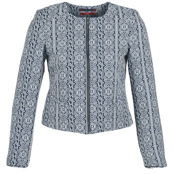 Clothing Women Jackets / Blazers S.Oliver GUINELA Blue / White
