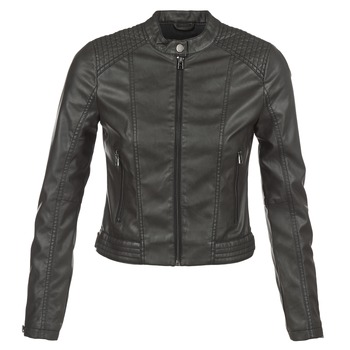 Clothing Women Leather jackets / Imitation leather S.Oliver VERDUNE Black