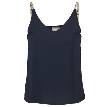 Clothing Women Tops / Sleeveless T-shirts Betty London EVOUSA Marine