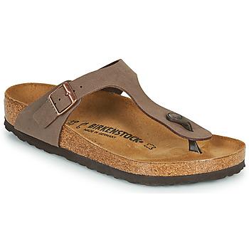Shoes Women Flip flops Birkenstock GIZEH Mocca