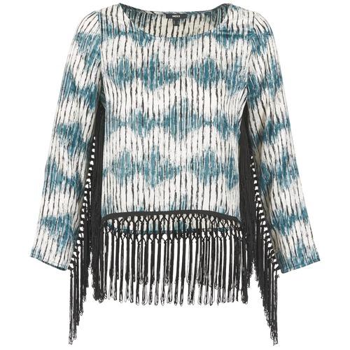 Clothing Women Long sleeved tee-shirts Mexx AMBRELI Blue