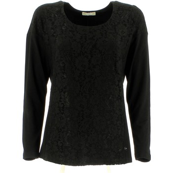 Clothing Women jumpers Nero Giardini A561105D T-shirt Women Black Black