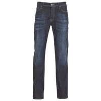 Clothing Men straight jeans Jack & Jones CLARK JEANS INTELLIGENCE Blue / Raw
