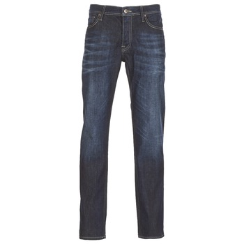 Clothing Men slim jeans Jack & Jones CLARK JEANS INTELLIGENCE Blue / Raw