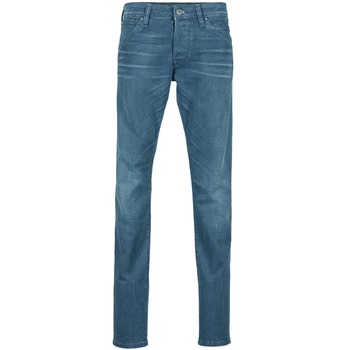 Clothing Men slim jeans Jack & Jones GLENN JEANS INTELLIGENCE Marine