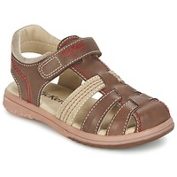 Shoes Boy Sandals Kickers PLATINIUM Brown