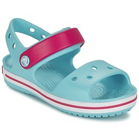 Shoes Girl Sandals Crocs CROCBAND SANDAL POOL / Candy