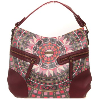 Bags Women Small shoulder bags Smash Sac Choler bordeaux Red