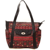 Bags Women Shopping Bags / Baskets Smash Sac Cecily rouge Red