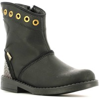 Shoes Girl Mid boots Melania ME2589D5I.B Ankle boots Kid Black Black