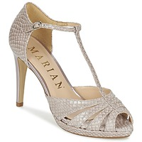 Shoes Women Sandals Marian CHANVRO Beige / Python