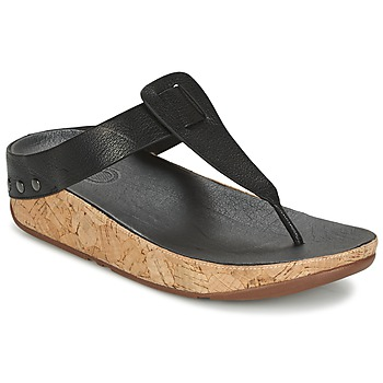 Shoes Women Flip flops FitFlop IBIZA CORK  BLACK
