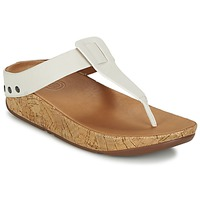 Shoes Women Flip flops FitFlop IBIZA CORK URBAN / White