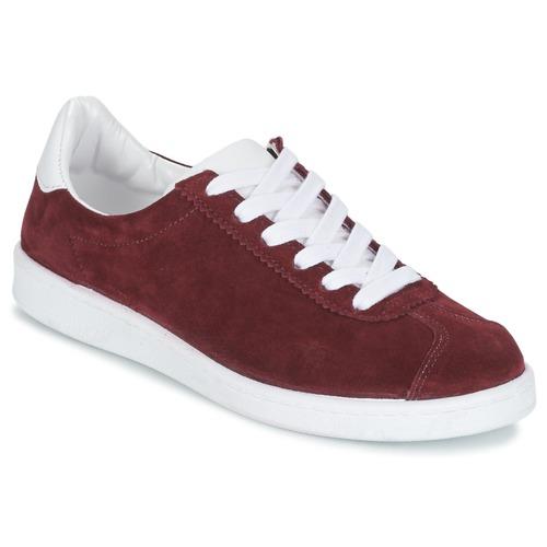 Shoes Women Low top trainers Yurban EMARTI Bordeaux