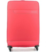 Bags Soft Suitcases Roncato 414271 Trolley big 4 wheells Luggage Red Red