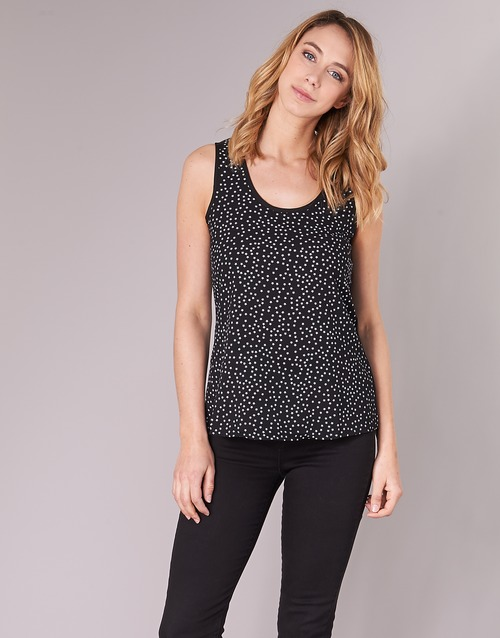 Clothing Women Tops / Blouses Moony Mood EZTEL Black / White