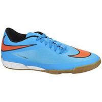 Shoes Men Football shoes Nike Hypervenom Phade IC Orange-Light blue